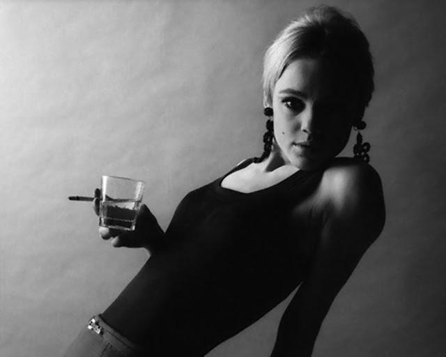 1966 --- Edie Sedgwick --- Image by © Jerry Schatzberg/Corbis